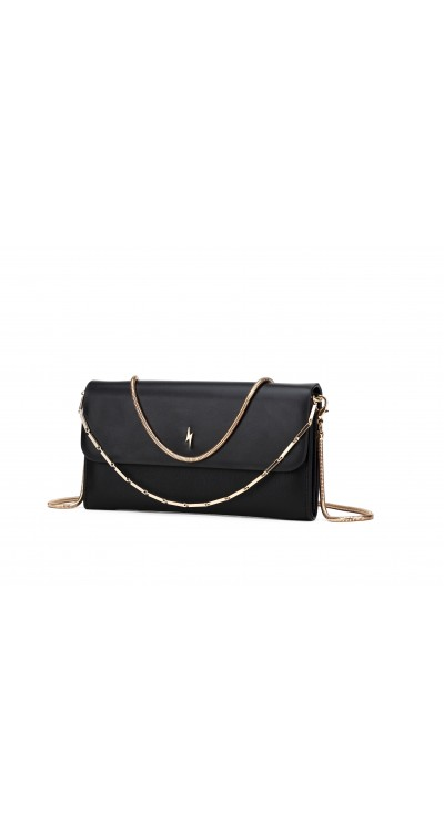 FILIPA BLACK GRANTHAM CLUTCH