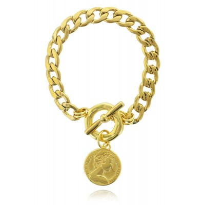 THE BIG COIN BRACELET