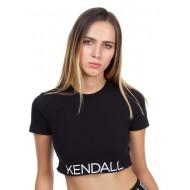 KENDALL+KYLIE LOGO WAIST TOP KKW341612