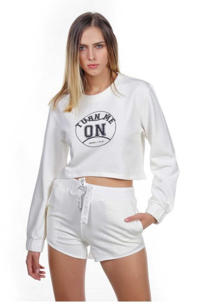 KENDALL+KYLIE ACTIVE TURN ME ON SWEATER KKW341609