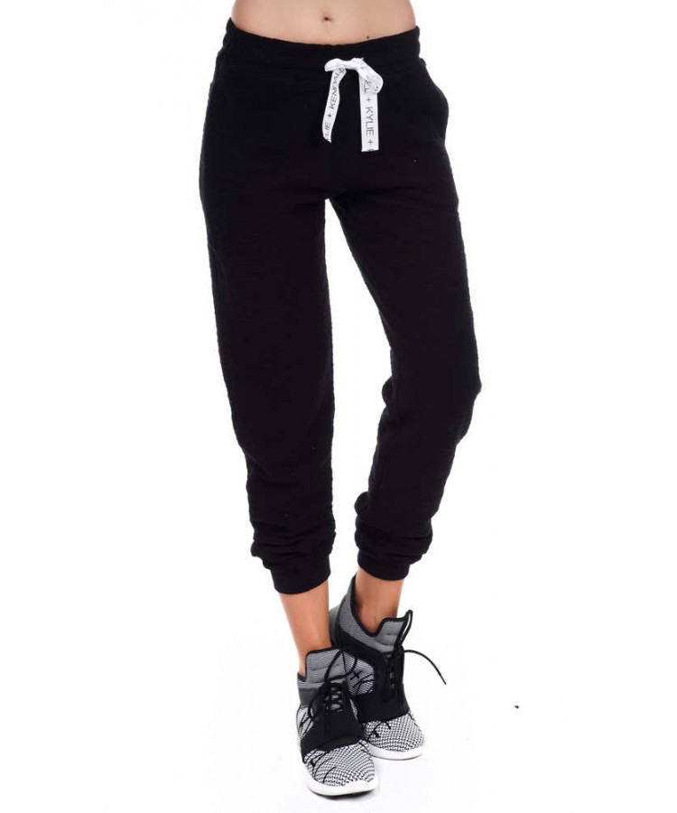 KENDALL+KYLIE ACTIVE INSIDE OUT SWEAT PANTS KKW341704