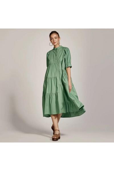ACCESS Φόρεμα με ασύμμετρες ραφές S1-3518