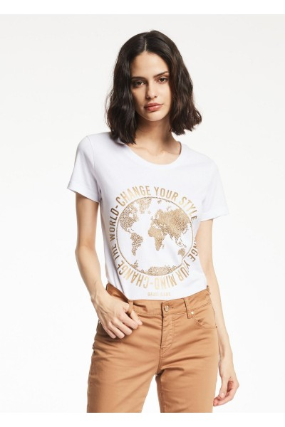 GAUDI ECO-FRIENDLY COTTON T-SHIRT
