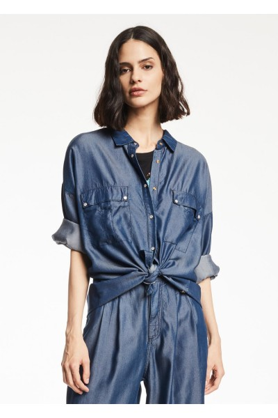 GAUDI OVERSIZED DENIM SHIRT