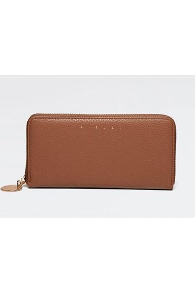 SISLEY Πορτοφόλι σε καφέ χρώμα