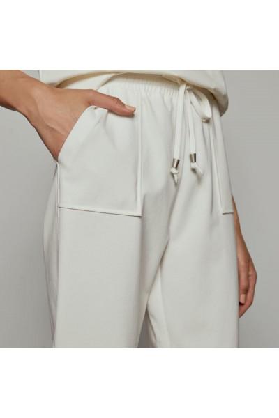 ACCESS Παντελόνι φόρμας με λάστιχο και κορδόνια - W1-5018
