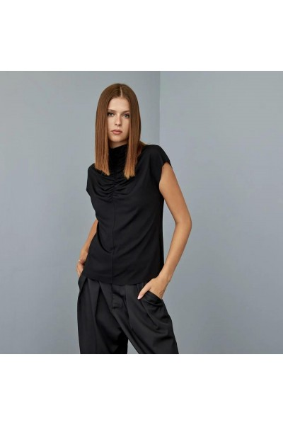 ACCESS Μπλούζα με σούρα - W1-2064