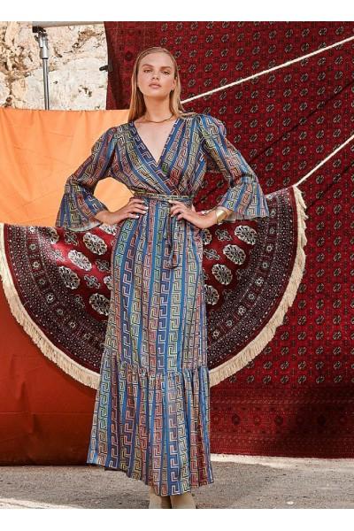 NEMA CASSIA Maxi Φόρεμα  Σατεν N419-05500
