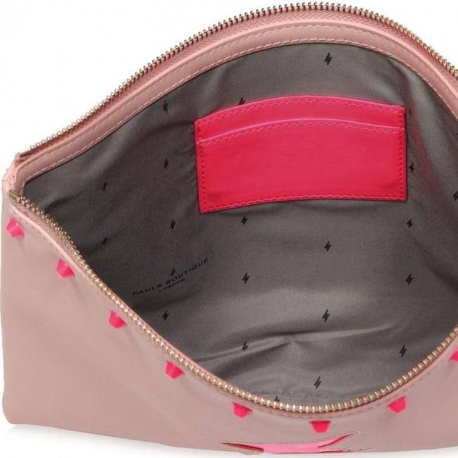 STEPHANIE CLUTCH BAG PINK/NEON