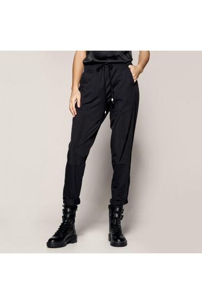 ACCESS Παντελόνι με λάστιχο και συνδυασμό υφάσματος  S1-5001