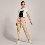 ACCESS Βαμβακερή μπλούζα με τύπωμα - S1-2139
