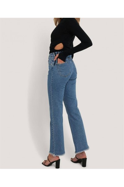 NA-KD RELAXED BOOTCUT JEANS 1660-000211