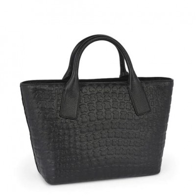 TOUS SHERTON LEATHER TOTE BAG