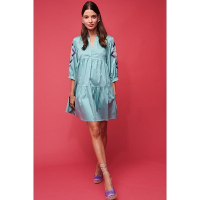 NEMA IRENE MINI DRESS MINT