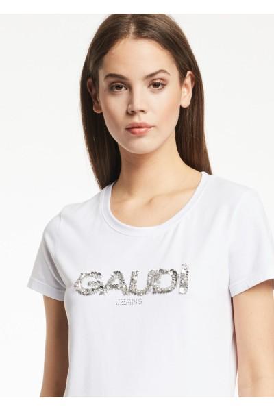 GAUDI CREWNECK T-SHIRT WHITE