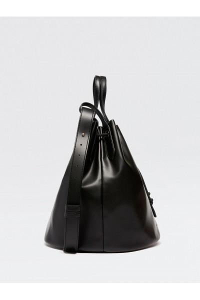 SISLEY Τσάντα πουγγί σε μαύρο χρώμα