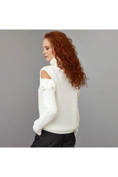 ACCESS Μπλούζα πλεκτή ανοιχτοί ώμοι - W1-8095