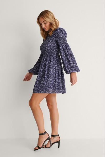 NA-KD High Neck Mini Φόρεμα με τύπωμα 1018-007257