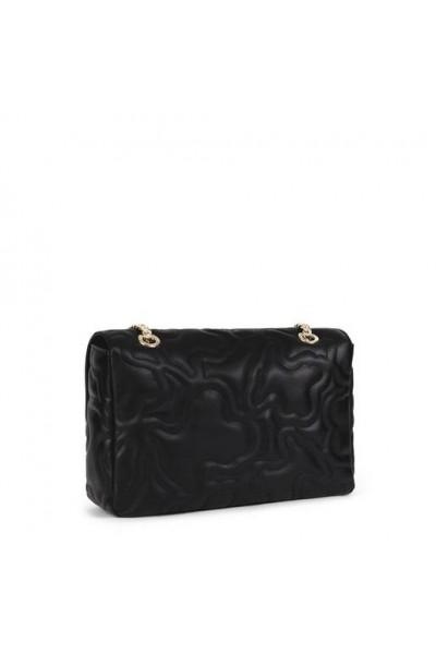 TOUS KAOS DREAM Χιαστί τσάντα με καπάκι σε μαύρο χρώμα
