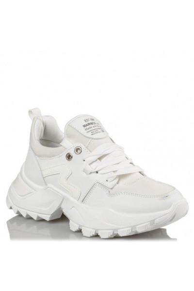 ENVIE SHOES POSER SNEAKER σε λευκό χρώμα  M42-14919