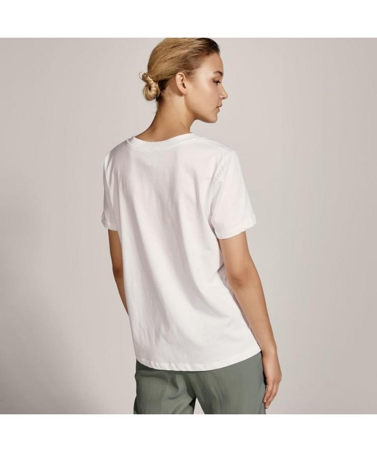 ACCESS T-shirt με V λαιμόκοψη  S1-2142